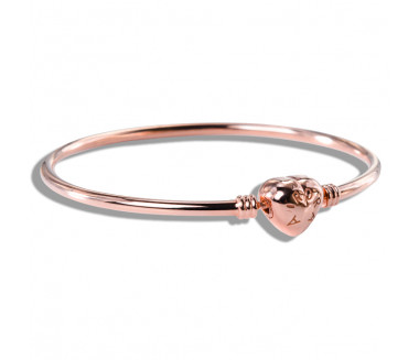 ENCHANTED AURORA ROSE BANGLE